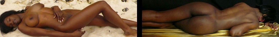Nude black girls