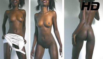 Ebony Teen Strip – 2