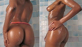 Black woman nude – Sculptural Line