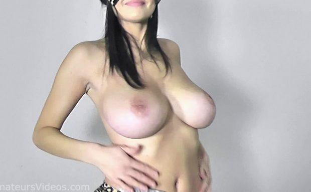 Amazing busty girl